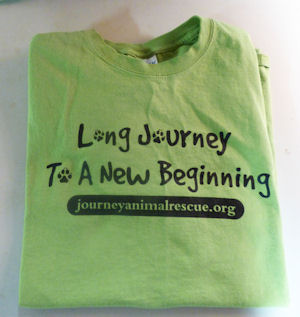 Journey Animal Rescue T Shirt